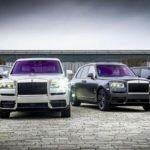 Роскошный внедорожник Rolls-Royce Cullinan получил яркий интерьер от Mansory